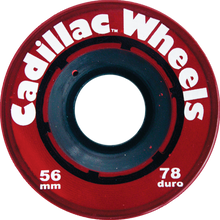Cadillac - 56mm Red - (Set of Four) Skateboard Wheels