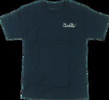 Chocolate - Og Script Ss S - Navy - Skateboard Tshirt