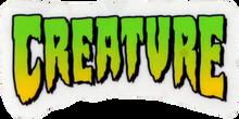 "Creature - Logo Mini Decal 1""x2"" - Skateboard Decal"