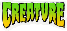 "Creature - Logo Sm Decal 2""x4"" - Skateboard Decal"