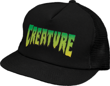 Creature - Logo Mesh Hat Adj - Blk / Blk