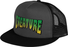 Creature - Logo Mesh Hat Adj - Grey / Blk