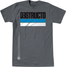 Destructo - Industria Ss S - Grey Premium - Skateboard Tshirt