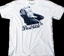 Destructo - Racer Ss S - White Premium - Skateboard Tshirt