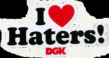 Dgk - Haters Sticker Asst Colors Single - Skateboard Decal