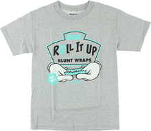 Dgk - Roll It Up Ss S - Athletic Heather - Skateboard Tshirt