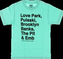 Dgk - Plazas Ss S - Mint - Skateboard Tshirt