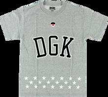 Dgk - Liberty Ss S - Athletic Heather - Skateboard Tshirt