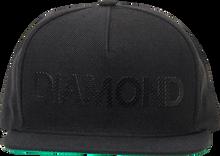 Diamond - Team Hat Adj - Black Snapback