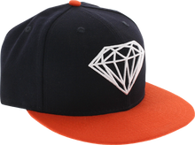 Diamond - Brilliant Hat 7 - 7 / 8 Navy / Org