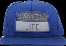 Diamond - Life Flag Hat Adj - Royal Snapback