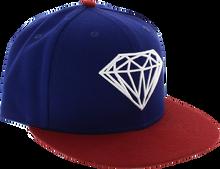 Diamond - Brilliant Hat 7 - 3 / 8 Royal / Red