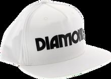 Diamond - Caroline Hat Adj - Wht / Blk Snapback