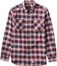 Diamond - Ombre Flannel L / S Buttonup S - Red