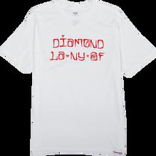 Diamond - Cities Ss S - White Sale - Skateboard Tshirt