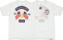 Diamond - Diamond Usa Ss S - White - Skateboard Tshirt
