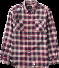 Diamond - Ombre Flannel L / S Buttonup M - Red