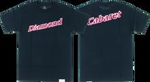 Diamond - Neon Script Ss M - Navy - Skateboard Tshirt
