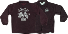 Diamond - Usa Coaches Jacket L - Burgundy