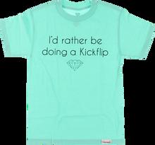 Diamond - Kickflip Ss Xxl - Diamond Blu - Skateboard Tshirt
