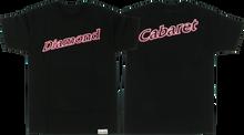 Diamond - Neon Script Ss Xl - Black - Skateboard Tshirt