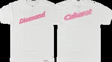 Diamond - Neon Script Ss Xl - White - Skateboard Tshirt
