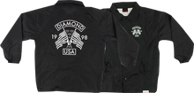 Diamond - Usa Coaches Jacket Xl - Blk