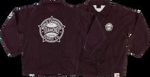 Diamond - World Renowned Coaches Jacket Xl - Burgundy