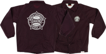 Diamond - World Renowned Coaches Jacket Xxl - Burgundy