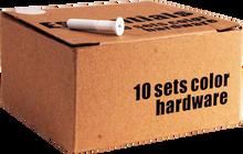 """Essentials - 10 k White 1"""" Hardware Ppp"""