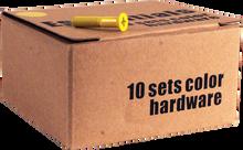 "Essentials - 10 k Yellow 1"" Hardware Ppp"