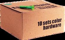 """Essentials - 10 k Green 1"""" Hardware Ppp"""