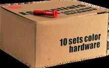 """Essentials - 10 k Red 1"""" Hardware Ppp"""