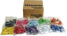 """Essentials - 10 k Asst.color 1"""" Hardware Ppp"""