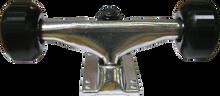Essentials - Assembly Raw W / Blk 52mm Ppp - (Pair) Skateboard Trucks