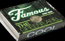Famous - Green Label Cool Single Bar Wax Organic - Surfboard Wax