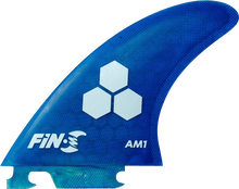 Fin-s - - S Am - 1 Honeycomb Blue 3 Fins - Surfboard Fins
