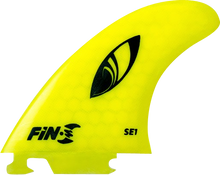 Fin-s - - S Se - 1 Honeycomb Neon Yellow 3 Fins - Surfboard Fins