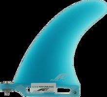 "Fins Unlimited - Unlimited D Performance 6"" Blue Fin - Surfboard Fins"