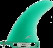 "Fins Unlimited - Unlimited D Performance 6"" Green Fin - Surfboard Fins"