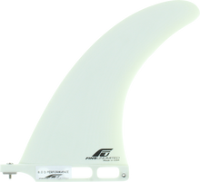 """Fins Unlimited - Unlimited D Performance 8"""" White Fin - Surfboard Fins"""