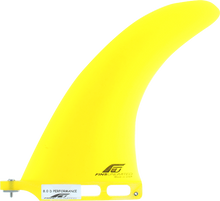 """Fins Unlimited - Unlimited D Performance 8"""" Yellow Fin - Surfboard Fins"""