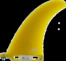 "Fins Unlimited - Unlimited Tudor Island 7.5"" Yellow Fin - Surfboard Fins"