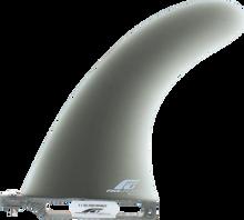 """Fins Unlimited - Unlimited Sro Performance 8"""" Smoke Fin - Surfboard Fins"""