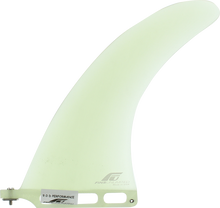 """Fins Unlimited - Unlimited D Performance 9"""" Clear Fin - Surfboard Fins"""