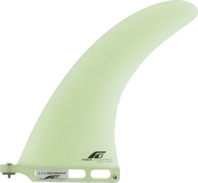 """Fins Unlimited - Unlimited D Performance 9"""" White Fin - Surfboard Fins"""