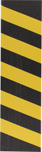 Fkd - Grip Single Sheet Caution Yellow / Black - Skateboard Grip Tape