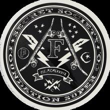 Foundation - Secret Society Lg Decal Asst.clrs Single - Skateboard Decal