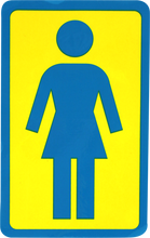 """Girl - Og Logo Sm 3"""" Decal Single - Skateboard Decal"""