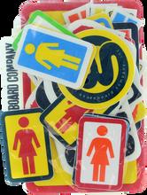 Girl - 44 ack Assorted Logo Decals Assorted - Skateboard Decal